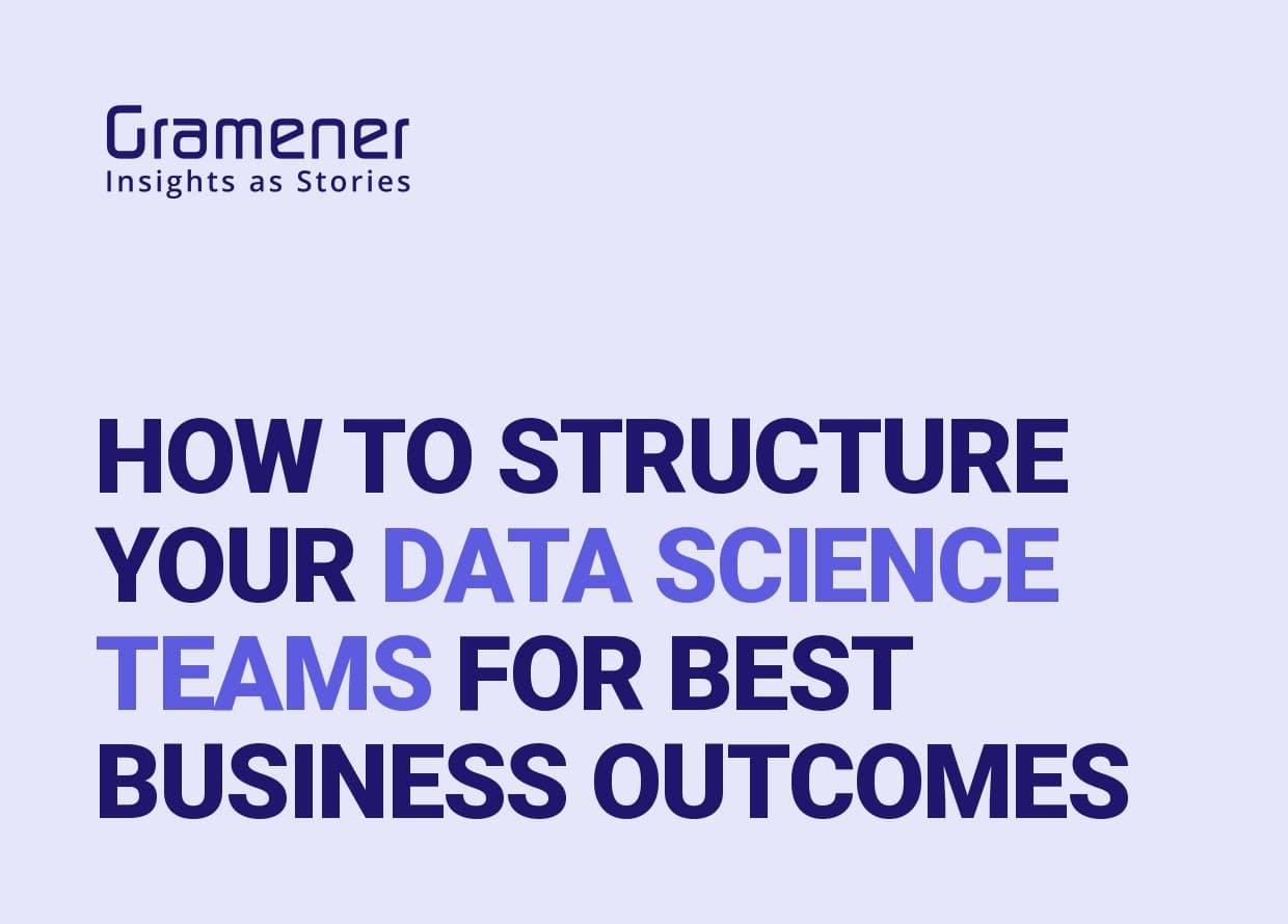 Structuring Data Science Teams