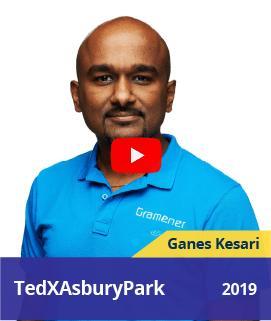 Ganes Kesari speaking about saving our Planet's Biodiversity with AI at TEDxAsburyPark, 2019
